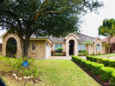 McAllen Single Family Home For Sale: 7516 N 3rd Street