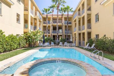 Cameron County Condo/Townhouse For Sale: 6410 Padre Island Boulevard #305