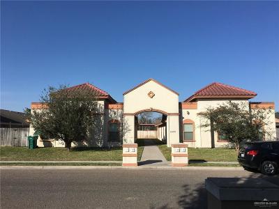 Pharr Multi Family Home For Sale: 1800 W Douglas Street