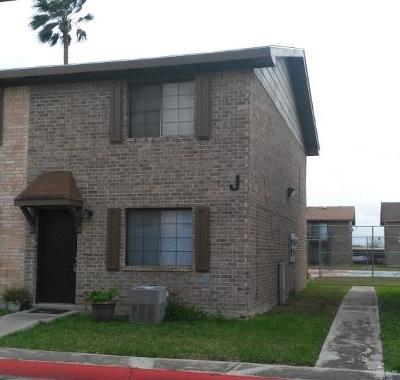 Pharr Condo/Townhouse For Sale: 2201 S Jackson Road #8J