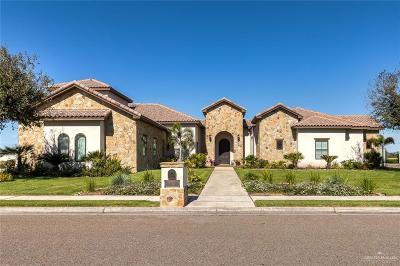 McAllen Single Family Home For Sale: 2700 Denton Creek Avenue