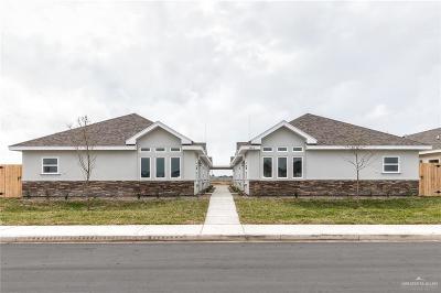 Edinburg Multi Family Home For Sale: 3904 Whitewing Avenue