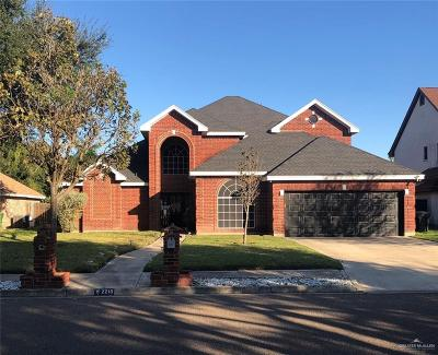 Weslaco Single Family Home For Sale: 22210 Highland Drive