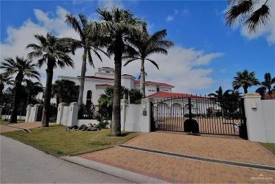 South Padre Island TX Single Family Home For Sale: $7,950,000