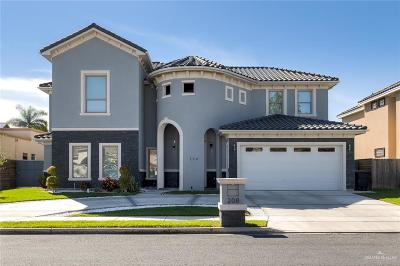 McAllen Single Family Home For Sale: 208 E Auburn Avenue