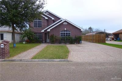 Alamo Single Family Home For Sale: 826 N 7th Street