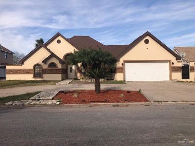 Pharr Single Family Home For Sale: 2716 Charlotte Drive