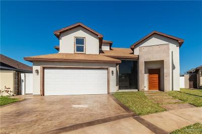 Edinburg Single Family Home For Sale: 1105 July Drive