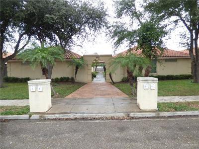 McAllen Multi Family Home For Sale: 2508 Shasta Avenue