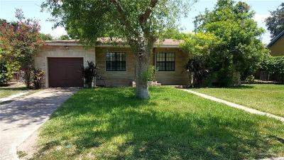 Pharr Single Family Home For Sale: 805 S Richmond Drive