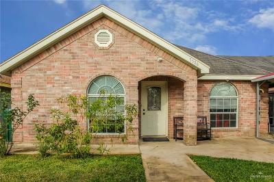 Pharr Single Family Home For Sale: 5506 S Blanca Lane
