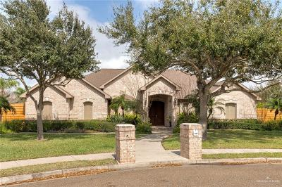 McAllen TX Single Family Home For Sale: $454,900