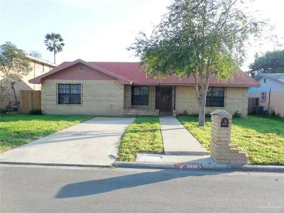 McAllen TX Single Family Home For Sale: $124,900