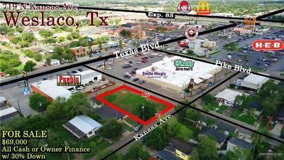 Weslaco Residential Lots & Land For Sale: 719 N Kansas Avenue