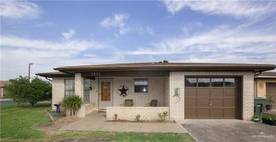 Harlingen Single Family Home For Sale: 1921 W Michigan Drive