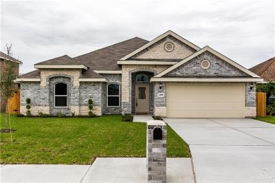 Weslaco Single Family Home For Sale: 2109 Water Willow Drive