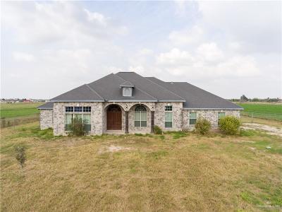 Edinburg Single Family Home For Sale: 7735 E Texas Road