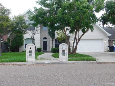 McAllen TX Single Family Home For Sale: $225,000