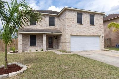 Edinburg Single Family Home For Sale: 3913 Drury Drive