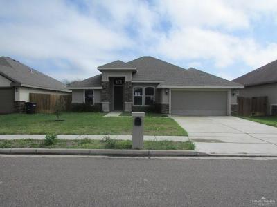 McAllen TX Single Family Home For Sale: $170,000