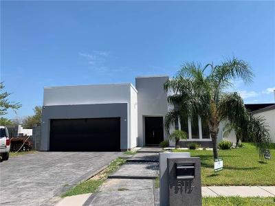 McAllen Single Family Home For Sale: 5112 W Tamarack Avenue