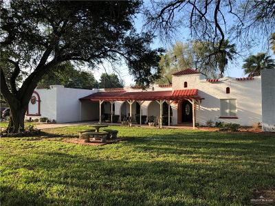 Weslaco Single Family Home For Sale: 851 Moon Lake Drive