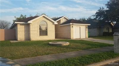 Pharr Single Family Home For Sale: 3400 W Tequila Drive