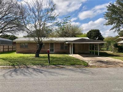 Pharr Single Family Home For Sale: 1222 Azalea Street