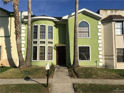 McAllen Condo/Townhouse For Sale: 3205 S Casa Linda Street