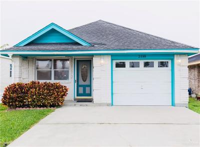 Mission Single Family Home For Sale: 2508 Bobolink Circle W Street