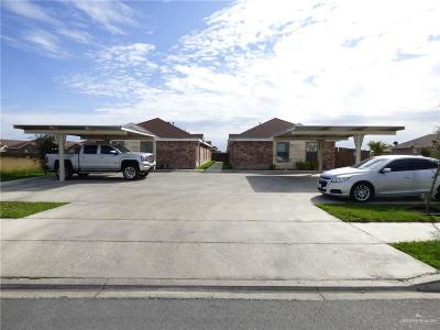 Edinburg Multi Family Home For Sale: 3214 Luz Divina Street