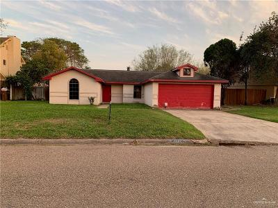 Edinburg Single Family Home For Sale: 1620 Oaks Road