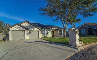 McAllen TX Single Family Home For Sale: $188,500