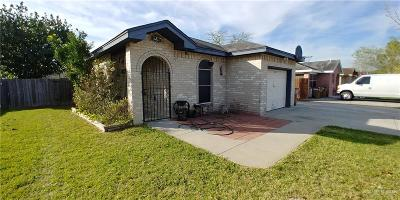 Edinburg Single Family Home For Sale: 2105 N Opal Street