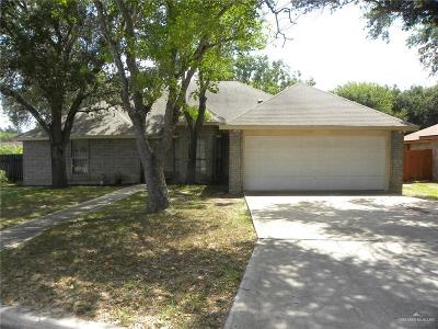 McAllen Single Family Home For Sale: 6016 N 36th Lane