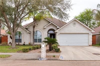 McAllen Single Family Home For Sale: 4221 Jay Avenue