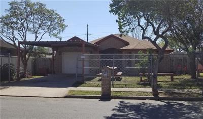 McAllen Single Family Home For Sale: 3041 Melba Avenue