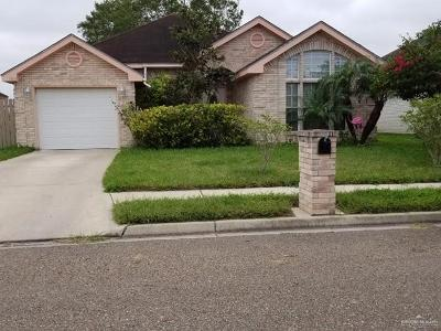 Pharr Single Family Home For Sale: 1003 W Toffee Drive