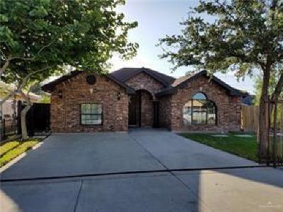 Pharr Single Family Home For Sale: 7008 Venus Lane
