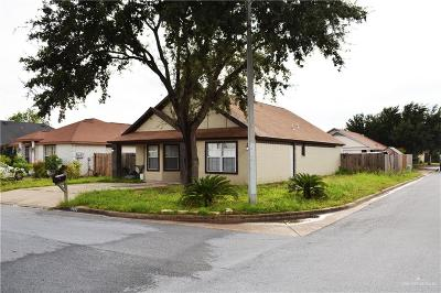 McAllen Single Family Home For Sale: 2823 N 37th Lane