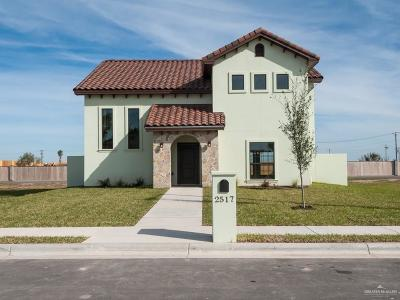 McAllen Single Family Home For Sale: 2517 S C Street