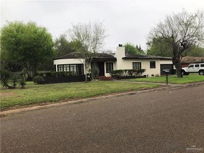 Weslaco Single Family Home For Sale: 901 Hackberry Drive