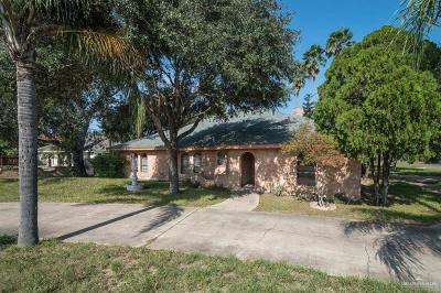 Edinburg Single Family Home For Sale: 1501 Vina Avenue