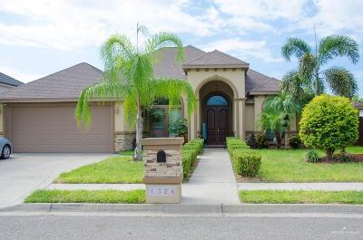 McAllen Single Family Home For Sale: 1324 E La Cantera Avenue