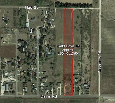 Residential Lots & Land For Sale: 1409 E Davis Road