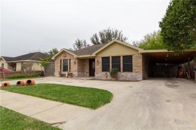 Pharr Single Family Home For Sale: 805 W Eagle Avenue