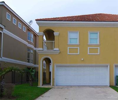 South Padre Island TX Condo/Townhouse For Sale: $406,500