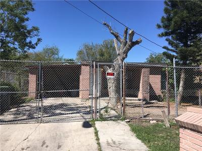 Brownsville Single Family Home For Sale: 3365 E 26th Street