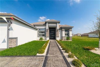 Edinburg Single Family Home For Sale: 3008 Red Raider Avenue