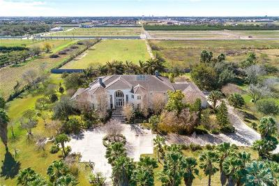 McAllen TX Single Family Home For Sale: $3,400,000